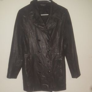 Vintage Esprit leather jacket